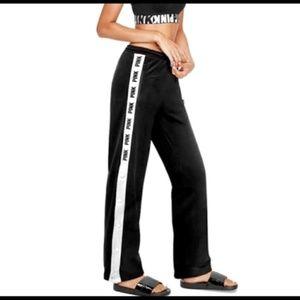 VS PINK Boyfriend Track Breakaway Pants Sz Large